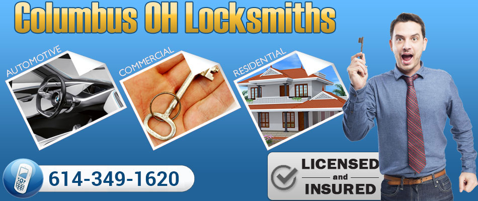 Columbus Locksmiths OH banner