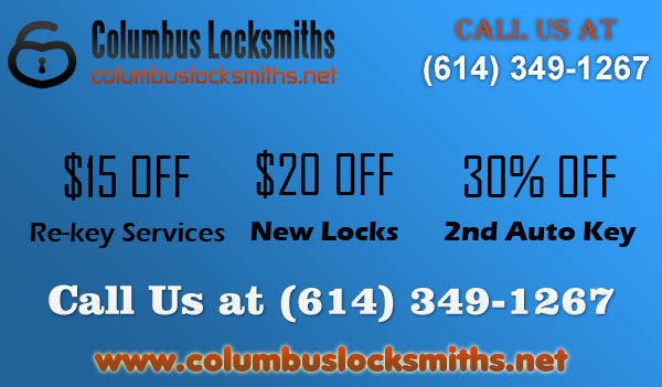 Columbus Locksmiths OH Coupon
